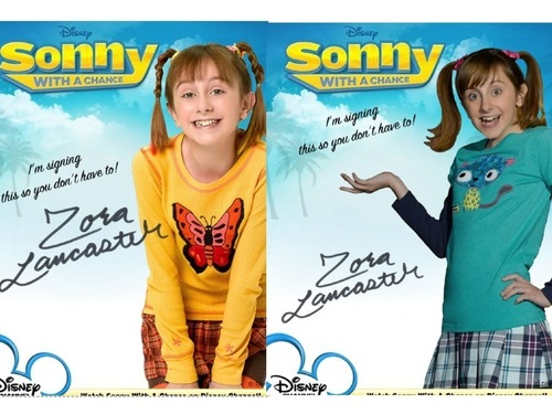 Zora Lancaster Autograph Season 1 and 2