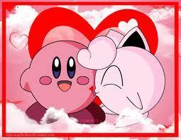 jigglypuff y kirby Amore