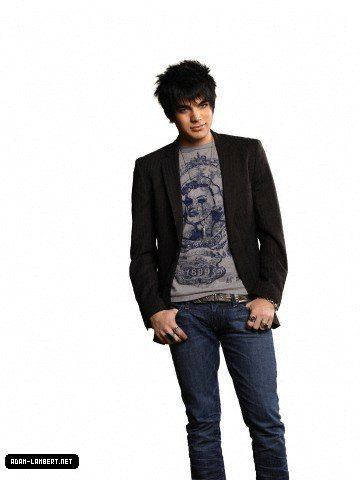 new adam..with long hair..