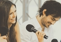nina and ian - the-vampire-diaries-actors photo