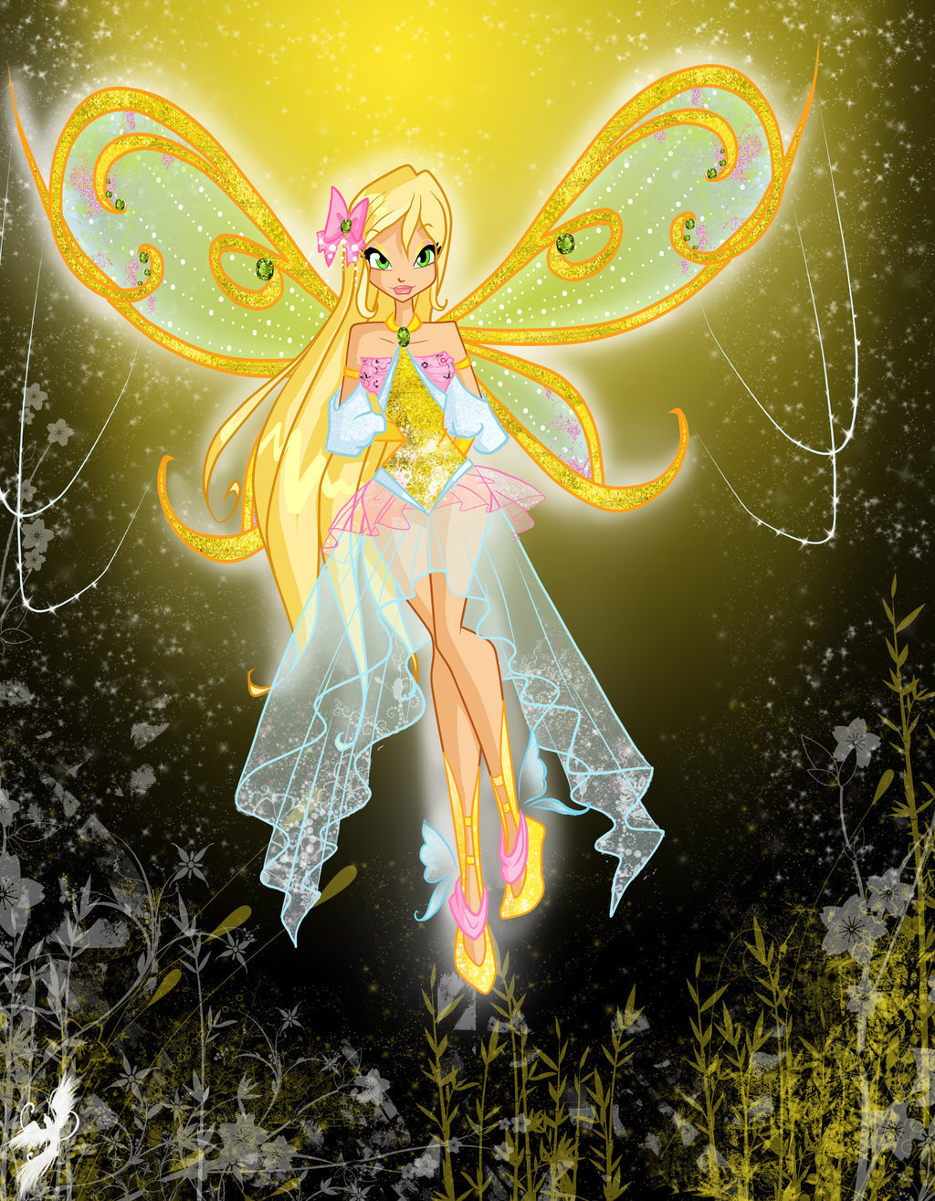 The Winx Club stella sparklix extra