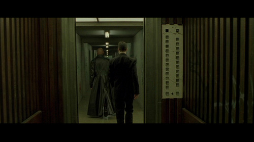 The Matrix wallpaper possibly containing a business suit called the matrix