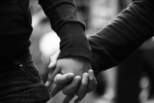 we go hand in hand to love