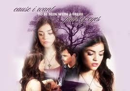 Ezra & Aria wallpaper with a portrait called <333aria and ezra
