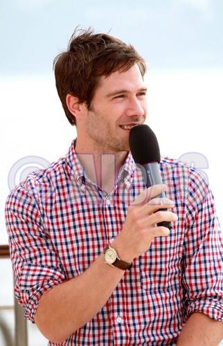 Luke at Monte Carlo TV Festival