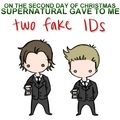 12 Days of Christmas - SPN Style - supernatural fan art