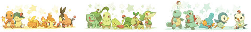 All Generations Starters
