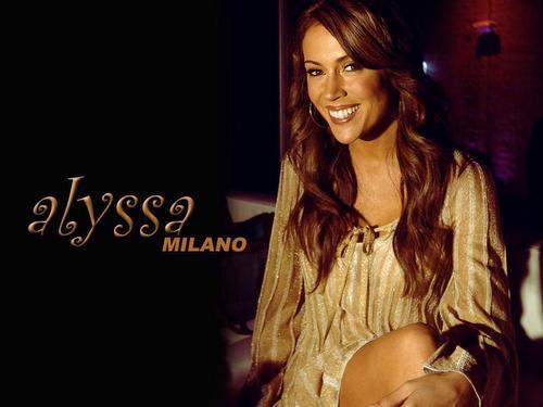 Alyssa Milano 壁紙