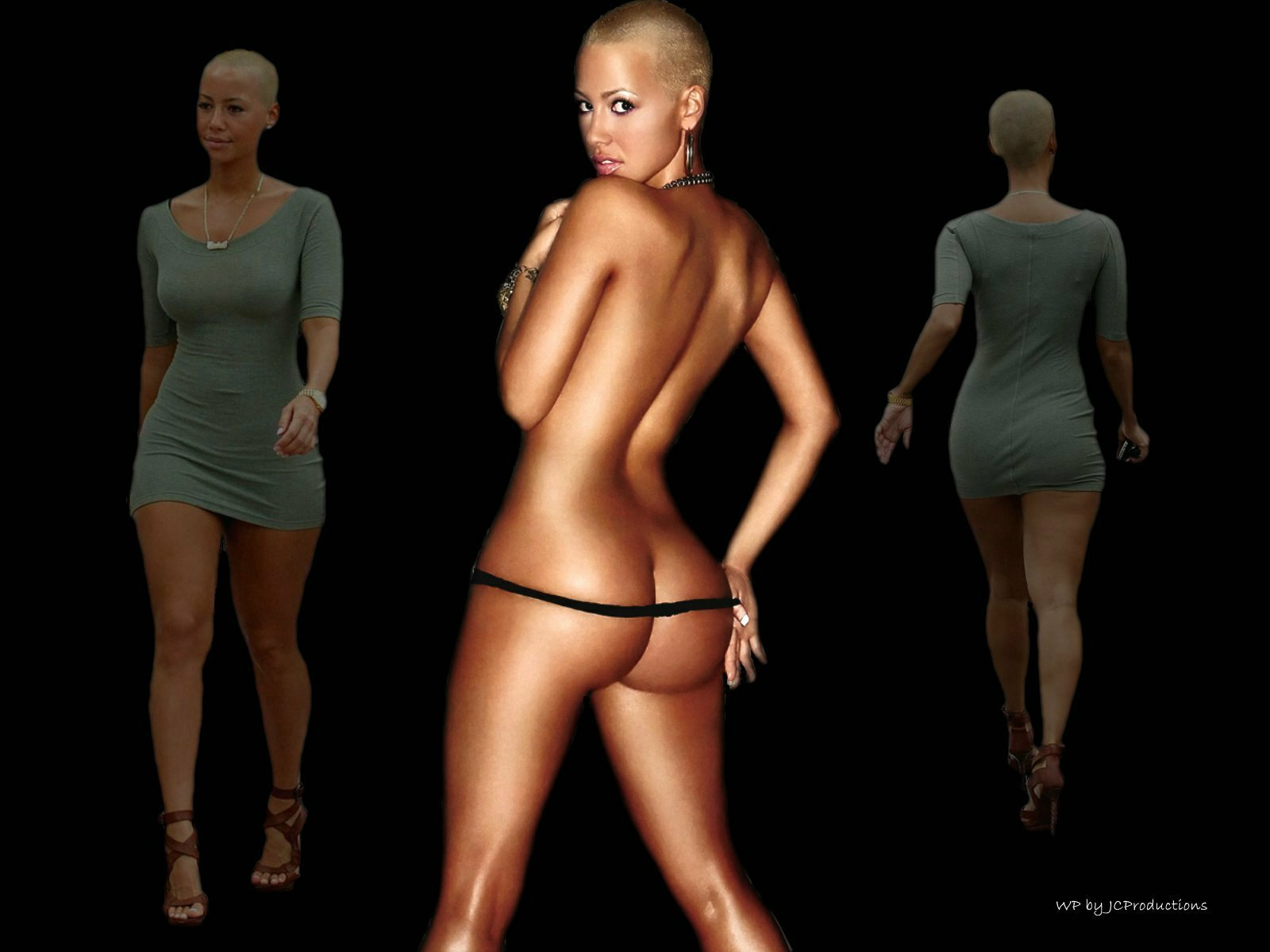 Amber Rose comin' & goin' !!!