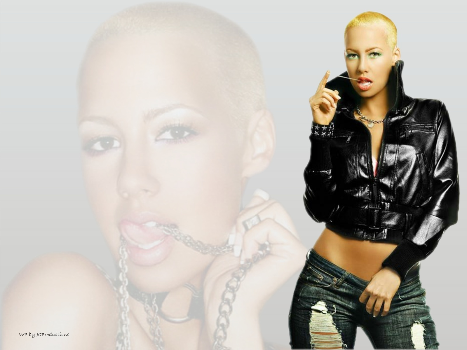 Amber Rose Wallpaper