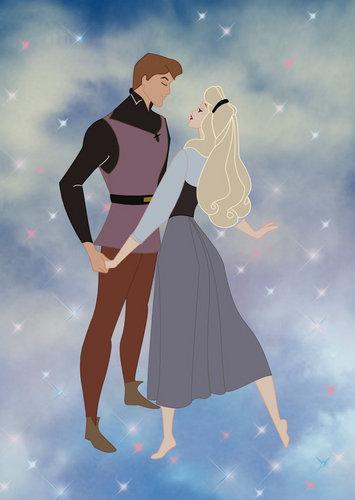 Princess Aurora fondo de pantalla called Aurora and Phillip