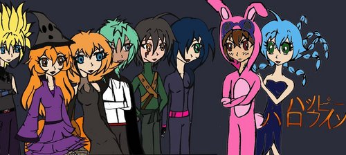 Bakugan Halloween (couples)