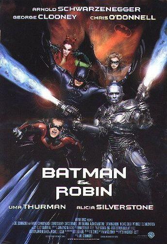 蝙蝠侠 & Robin Poster