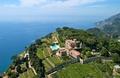 Birdview over the Hotel Villa Cimbrone