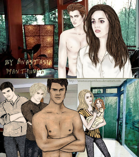 Breaking Dawn fan-arts