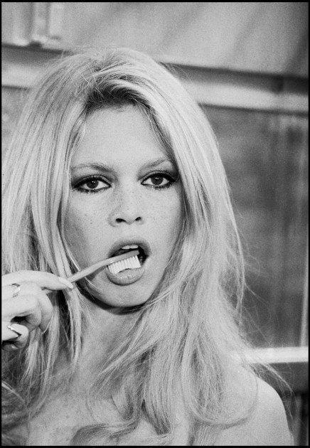 Brigitte Brushing Her Teeth :D
