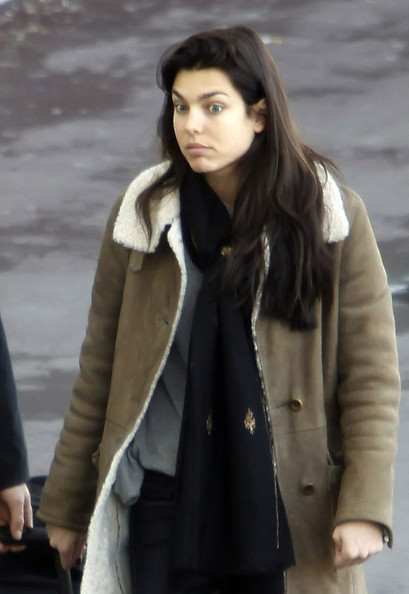 шарлотка, шарлотта Casiraghi of Monaco at the Airport