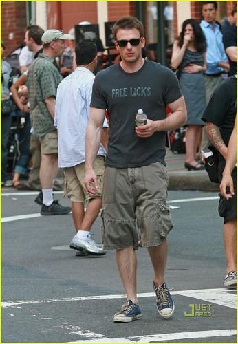Chris Evans: Captain America Crotch Grab