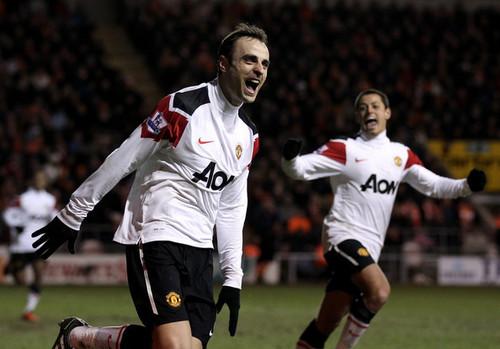D. Berbatov (Blackpool - Manchester United)