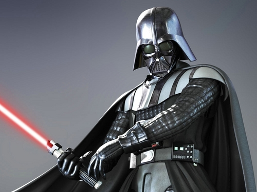 Darth Vader wallpaper with a breastplate titled Darth Vader