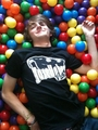 Dave in a ballpit (diffrent pose and shrit)