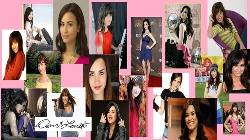 Demi Lovato Collage