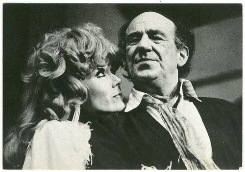 Diana Rigg + Michael Hordern in Jumpers