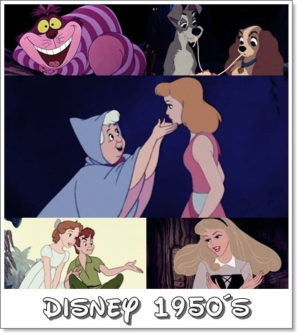 Disney wallpaper with Anime called Disney Decades (1950's)