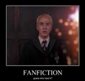 Draco Malfoy fanfiction - fangirls photo