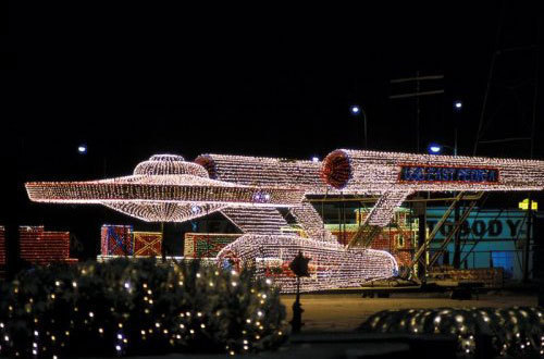 Geeks images Enterprise in Christmas lights :) wallpaper and ...