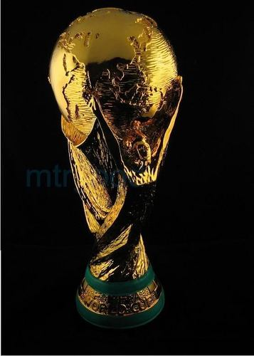 FIFA futebol WORLD CUP TROPHY REPLICA 1:1 GOLDEN PAINTED