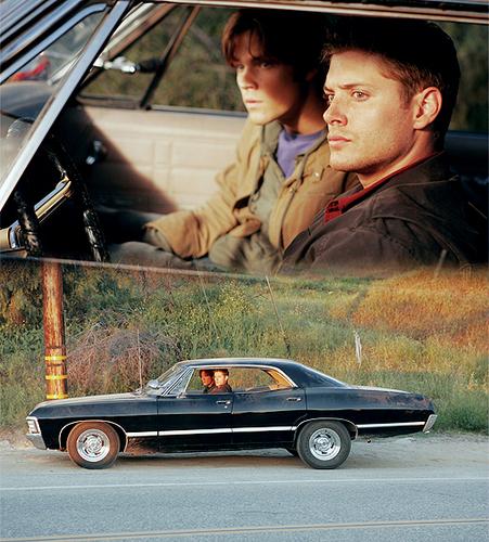 Supernatural wallpaper possibly with an automobile titled Fan art