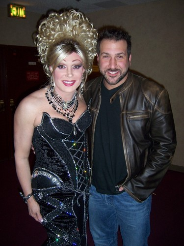 Frank Marino and Joey Fatone