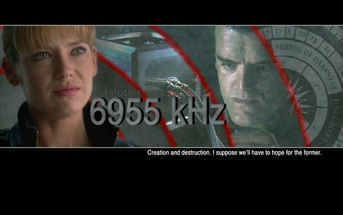 Fringe Season 3 6955 kHz