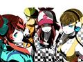 Fuurou, Belle, Touko, and Kamitsure