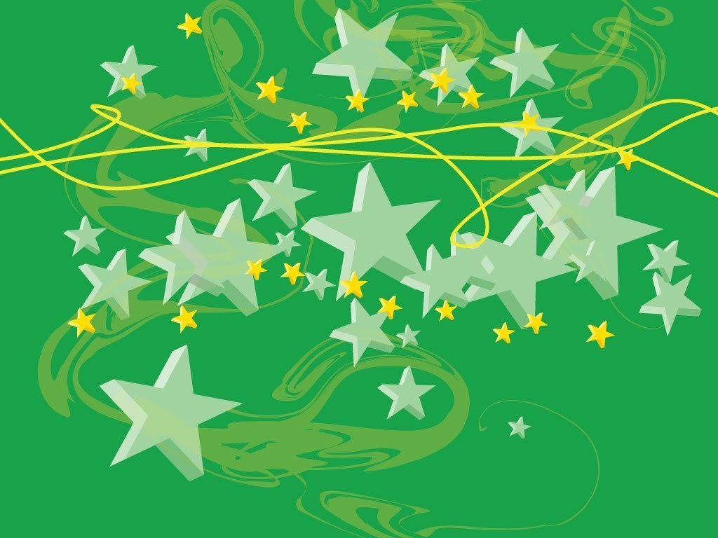 stars images green stars hd wallpaper and background