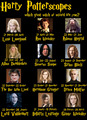 *Which character are you?* Harry Potterscopes ;))