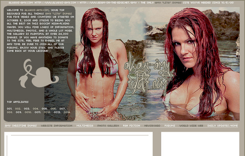 "Amy ""Lita"" Dumas wallpaper probably with attractiveness, a bikini, and a portrait called Hot Lita"