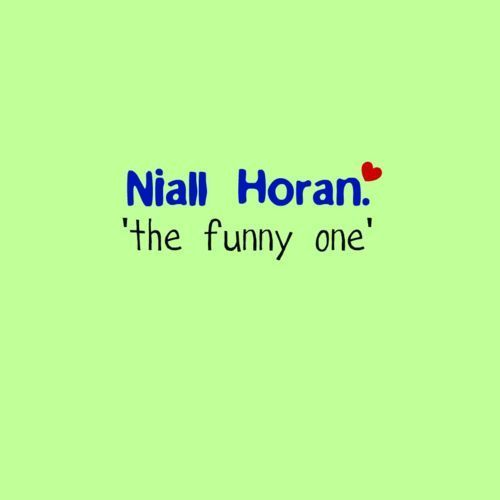 "Irish Cutie Niall ""The Funny 1"" 哈哈 100% Real :) x"