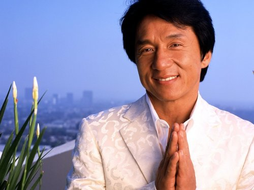 Jackie Chan wallpaper probably with a business suit titled J.C