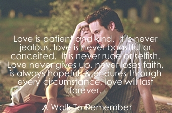 Nur mit Dir - A Walk to Remember Hintergrund called Jamie & Landon ♥