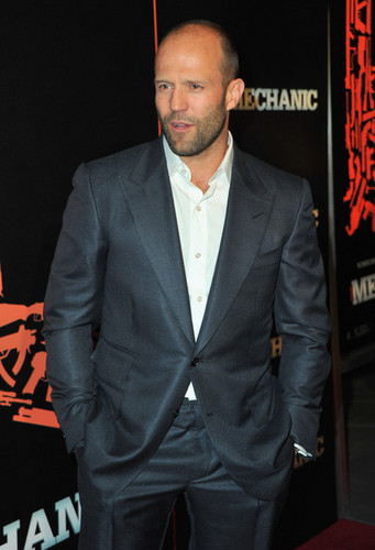 Jason @ The Mechanic premiere - Red Carpet