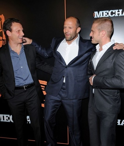 Jason @ The Mechanic premiere