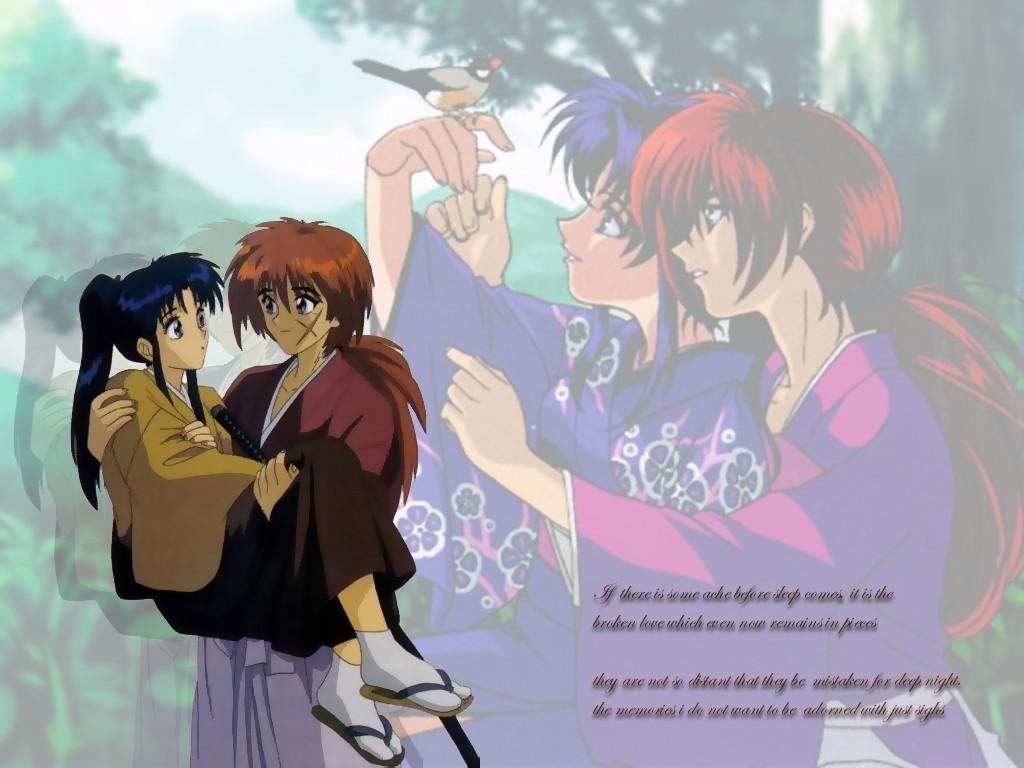 Image Gallery kenshin and kaoru