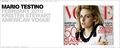 Kristen Stewart on the Front Page of Fashion Photographer Mario Testino's Official Site - twilight-series photo