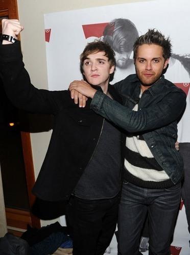 Kyle & Thomas Dekker (at Sundance)