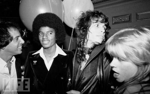 MJ & Steven Tyler