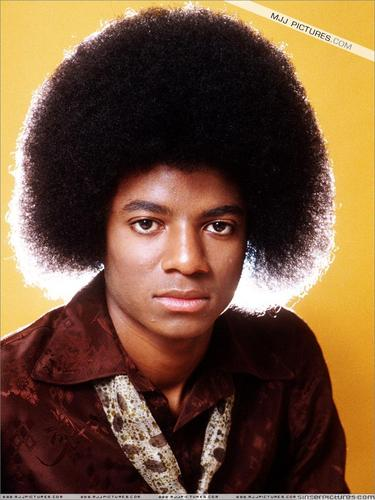 MJ with a afro xD