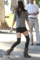 Megan out in Beverly Hills