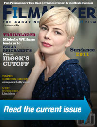 Michelle Williams wallpaper containing a portrait entitled Michelle Williams - Filmmaker Magazine (February 2011)